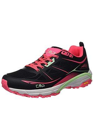 CMP – F.lli Campagnolo CMP – F.lli Campagnolo Damen Hapsu Wmn Nordic Walking Shoe Cross-Trainer, Schwarz (Nero-Gloss 84UE)