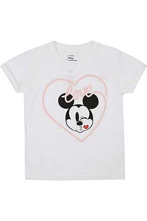 Disney Disney Mädchen Mickey Love KISS T-Shirt
