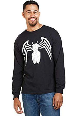 Marvel Marvel Herren Avengers Venom Emblem Langarmshirt