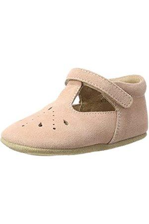 Bisgaard Bisgaard Baby Mädchen Bloom Krabbelschuhe, Pink (12 Peach)