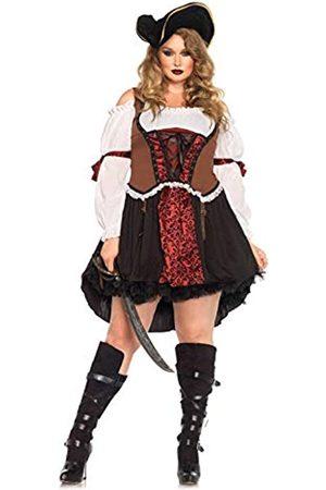 Leg Avenue Leg Avenue 85371X - Ruthless Piraten-Mädchen-Damen kostüm