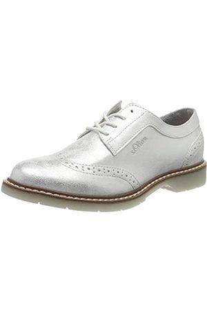 s.Oliver S.Oliver Damen 5-5-23604-24 Sneaker, Silber (Silver 941)