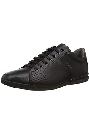 HUGO BOSS BOSS Herren Saturn_Lowp_Lux4 Sneaker, Schwarz (Black 001)