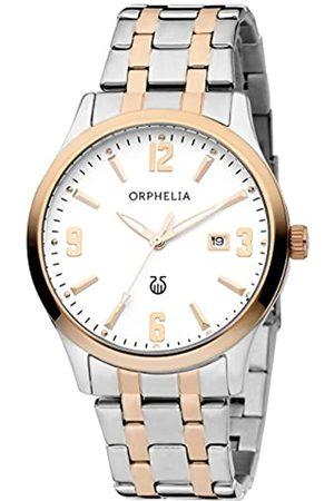 ORPHELIA Orphelia Herren-Armbanduhr Ivoire Analog Quarz Edelstahl