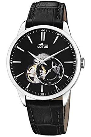 Lotus Lotus Herren Analog Automatisch Uhr mit Echtes Leder Armband 18536/4
