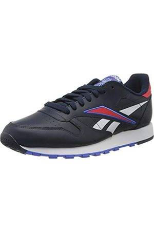 Reebok Reebok Herren Cl Leather Mu Gymnastics Shoe, Collegiate Navy/Radiant Red/White
