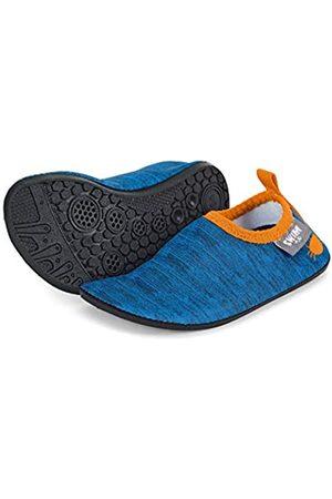 Sterntaler Sterntaler Jungen Aqua Schuhe, Blau (Blau 379)