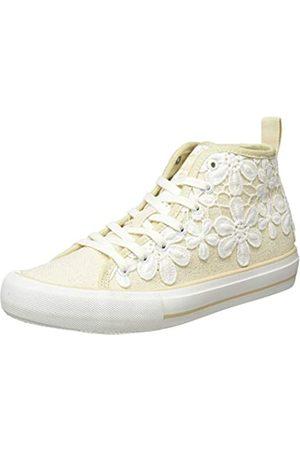 Desigual Damen Shoes BETA Crochet Hohe Sneaker, (Ecru 9020)