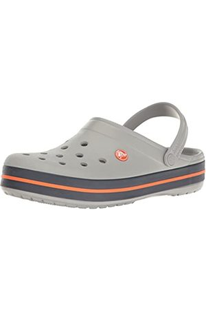 Crocs Crocs Unisex-Erwachsene Crocband U' Clogs, Grau (Light Grey/Navy)