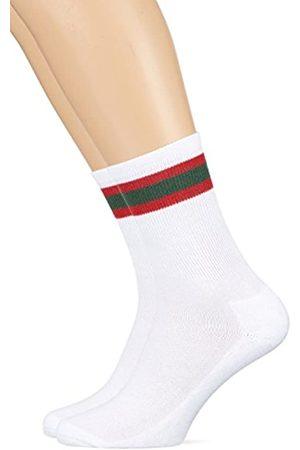 Urban classics Herren Stripy Sport 2-Pack Socken
