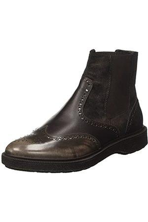 Geox Damen D Prestyn D Chelsea Boots, (Dk Coffee)