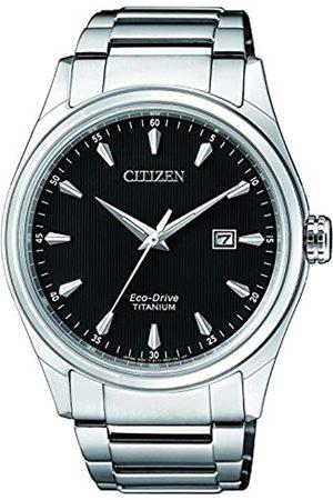 Citizen Citizen Herren Datum klassisch Solar Uhr mit Titan Armband BM7360-82E