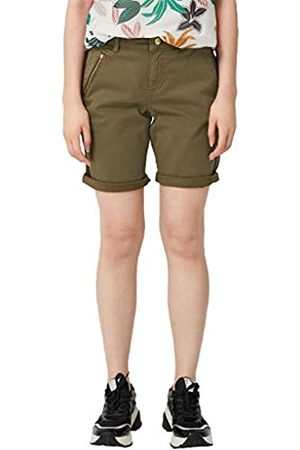 s.Oliver S.Oliver RED LABEL Damen Smart Bermuda: Twillshorts military olive 44