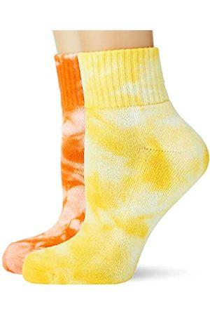 Urban classics Unisex Tie Dye Short 2-Pack Socken