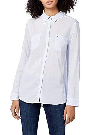 Tommy Hilfiger Tommy Jeans Damen Nea Lang - Regulär Regular Fit Shirt X-Large