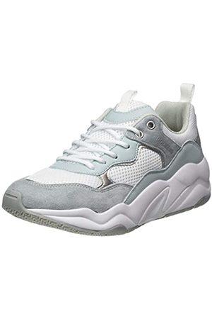 Dockers Damen 46NT201-617615 Sneaker, (Hellblau/Weiss 615)