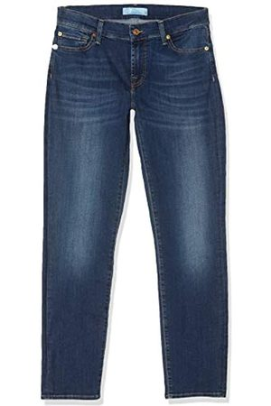 7 for all Mankind 7 For All Mankind Damen Rise Roxanne Crop Slim Jeans