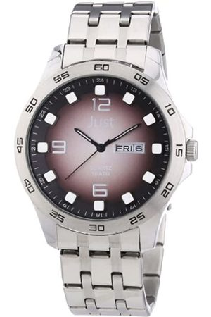 Just Watches Just Watches Herren-Armbanduhr XL Analog Edelstahl 48-S3455-BR