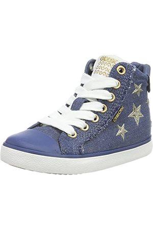 Geox Geox Mädchen J Kilwi Girl C Hohe Sneaker, Blau (Avio)