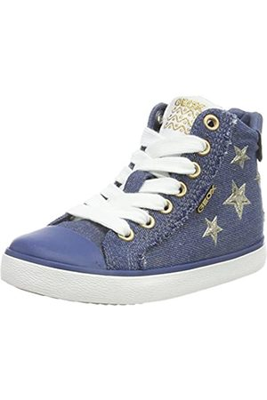 Geox J Kilwi Girl C Hohe Sneaker, (Avio)