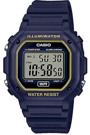 Casio CASIO Unisex Erwachsene Digital Quarz Uhr mit Harz Armband F-108WH-2A2EF