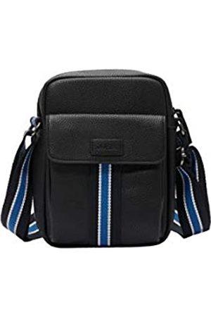 s.Oliver S.Oliver RED LABEL Herren Shoulder Bag mit Canvasgurt black 1
