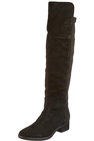 Geox Damen D FELICITY I Over-the-Knee Boot, Black