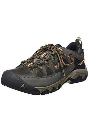 Keen Keen Herren Targhee III WP Trekking-& Wanderhalbschuhe, Mehrfarbig (Black Olive/Golden Brown)