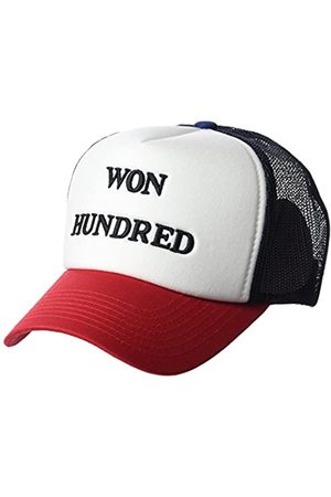 Won Hundred Won Hundred Herren Manila Baseball Cap, Rot (Chinese Red)