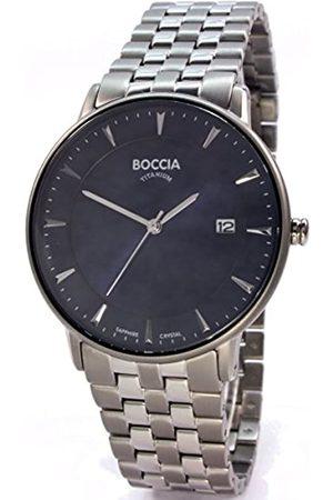 Boccia Boccia Herren Digital Quarz Uhr mit Titan Armband 3607-03