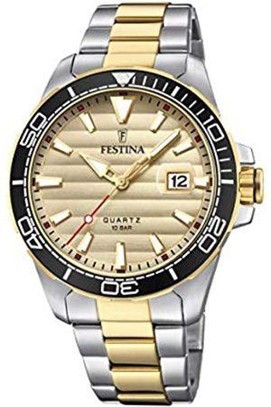 Festina Festina Herren Analog Quarz Uhr mit Edelstahl Armband F20362/1
