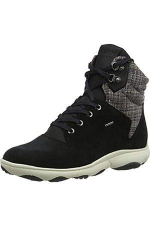 Geox Damen D NEBULA 4 X 4 B ABX A Chukka Boots, (Black C9999)