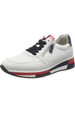 Gabor Gabor Shoes Damen Jollys Sneaker, Weiß (Weiss/Marine Kombi 20)