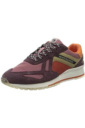 SCOTCH & SODA FOOTWEAR SCOTCH & SODA FOOTWEAR Herren VIVEX Sneaker, Mehrfarbig (Purple Multi S576)
