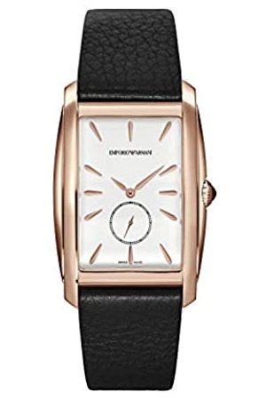 Emporio Armani Emporio Armani Herren Analog Quarz Uhr mit Leder Armband ARS8351