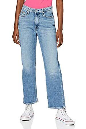 Calvin Klein Calvin Klein Jeans Damen Ckj 030 High Rise Straight Ankle Hose