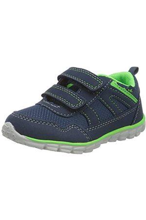 LICO Lico Baby Jungen Marisol V Sneaker, Blau (Marine/Grün Marine/Grün)