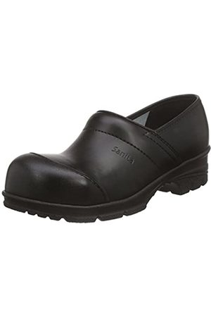 Sanita Sanita Workwear Unisex-Erwachsene San-Duty Closed-S2 Clogs, Schwarz (Black 2)