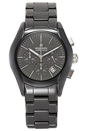 ARGONAU Argonau Unisex Erwachsene Analog Quarz Uhr mit Keramik Armband AU1301