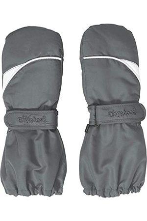 Playshoes Kinder - Unisex 1er Pack warme Winter-Handschuhe mit Klettverschluss Fäustling