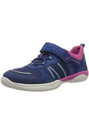 Superfit Superfit Mädchen Storm Sneaker, Blau (Blau/Rosa 81)