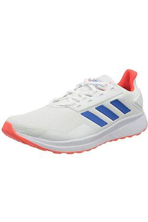 adidas Adidas Mens Duramo 9 Sneaker, Footwear White/Glory Blue/Solar Red