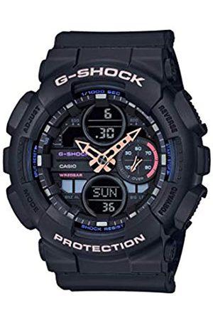 Casio CASIO Unisex Erwachsene Analog – Digital Quarz Uhr mit Resin Armband GMA-S140-1AER