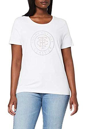 Tommy Hilfiger Tommy Hilfiger Damen Tiara Regular Round-nk Tee Ss T-Shirt