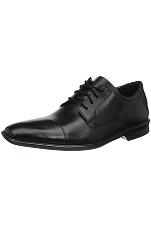 Clarks Clarks Herren Bensley Cap Derbys, Schwarz (Black Leather Black Leather)