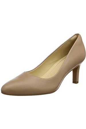 Clarks Clarks Damen Calla Rose Pumps, Beige (Praline Leather)