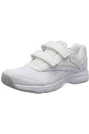 Reebok Reebok Womens Work N Cushion 4.0 KC Gymnastics Shoe, White/Cold Grey 2/White