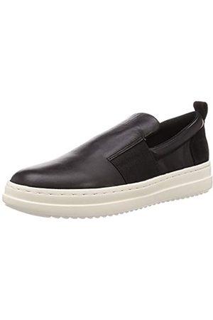 Geox Geox Damen D PONTOISE F Slip On Sneaker, Schwarz (Black C9999)