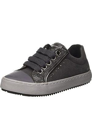Geox Geox Mädchen J Kalispera Girl J Sneaker, Grau (Dk Grey)