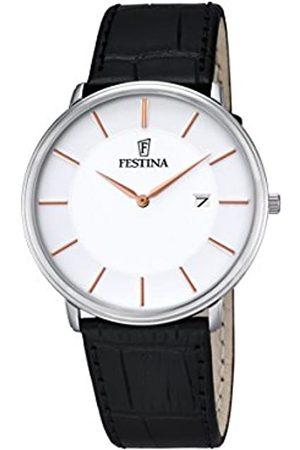 Festina Festina Herren Analog Quarz Uhr mit Leder Armband F6839/3